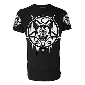 Darkside - MICKEY 666 - Mens T-Shirt - Black