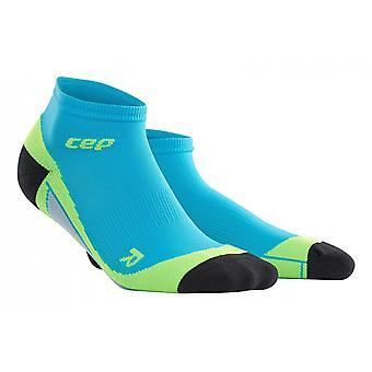 CEP dynamisk + low-cut sokker mænd - hawaii blå grøn