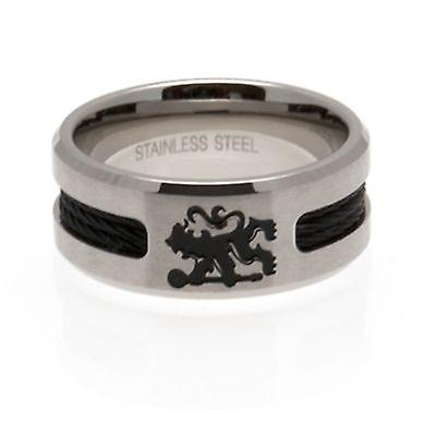 Chelsea Black beläggning Ring Small