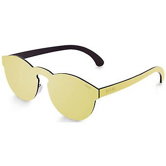 Ocean Long Beach Flat Lense Sunglasses - Gold