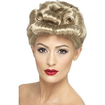 Smiffys 40S Vintage Wig Blonde With Curls (Costumes)