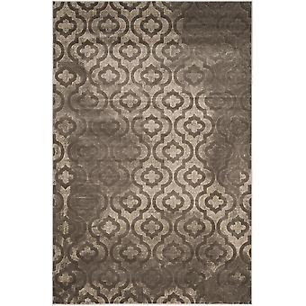 Short-pile woven rug living room indoor carpet grey indoor rugs - Pacific Evergreen grey 124 / 183 cm - rug for the living room inside