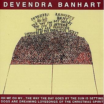 Devendra Banhart - Oh mig Oh min måde den dag går solen er indstillingen [CD] USA importerer