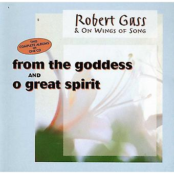 Robert Gass - fra the Goddess/store ånd [CD] USA import