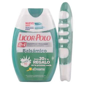 Licor Del Polo Balsamico Lot 2 Pieces (Hygiene and health , Dental hygiene , Toothpaste)