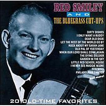Rød Smiley - 20 Old-Time favoritter [CD] USA importerer