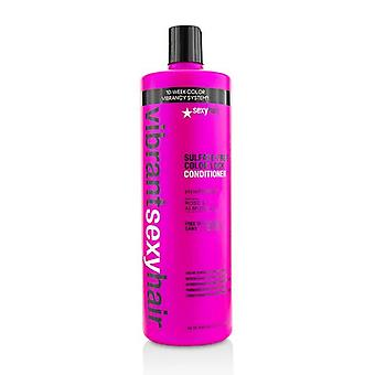 Sexy Hair Concepts Vibrant Sexy Hair Color Lock Color Conserve Conditioner - 1000ml/33.8oz