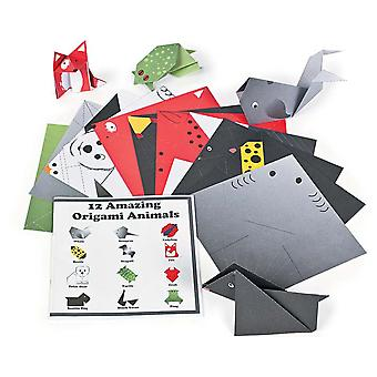 6 Amazing Animals Origami Paper Booklets | Origami Paper Packs