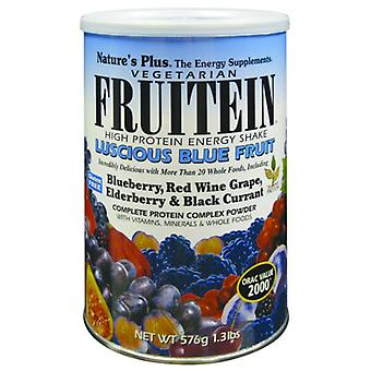 Natures Plus FRUITEIN üppige blaue Frucht SHKE 1,35 LB