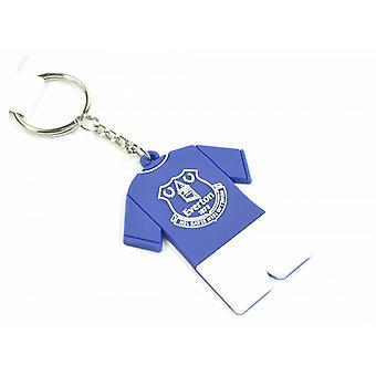 Everton FC Official PVC Full Kit Keyring
