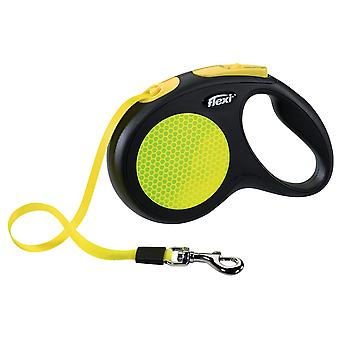 Flexi New Neon Tape Retractable Leash