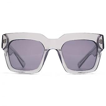 Hook LDN Genesis Chunky Square Premium Acetate Sunglasses In Grey
