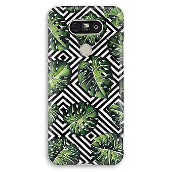 LG G5 Full Print Case - Geometric jungle