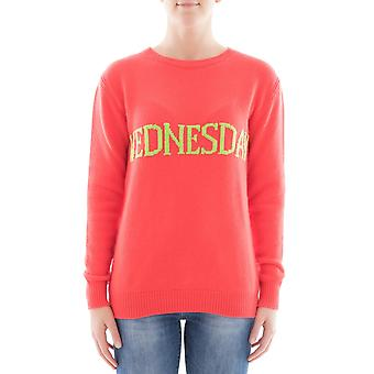 Alberta Ferretti women's 094316101129 red wool sweater