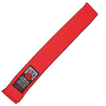 Cimac Martial Arts Belt Red 320cm