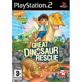 Allez Diego Go! Great Dinosaur Rescue (PS2) - Usine scellée