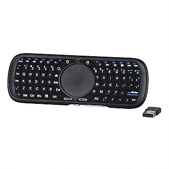 Wireless QWERTY Keyboard with Touchpad