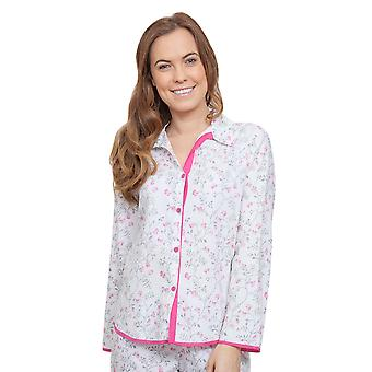 Cyberjammies 3801 Women's Erica Grey Floral Pajama Pyjama Top