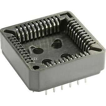 PLCC socket Contact spacing: 2.54 mm Number of pins: 52 econ connect