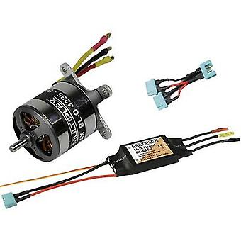 Model aircraft brushless motor Multiplex 332610 Compatible with: Multiplex Fun