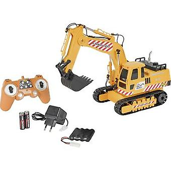 Carson RC Sport Crawler excavator 1:20 RC scale model for beginners Heavy-duty vehicle Incl. batteries and charger