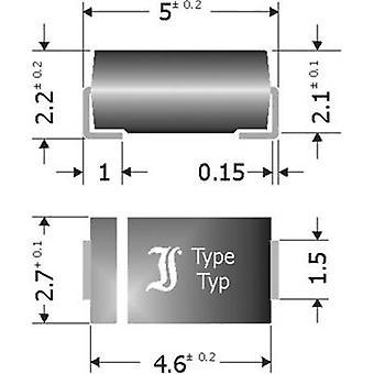 Diotec Schottky barrière gelijkrichter SK34SMA doen 214AC 40 V 3 A