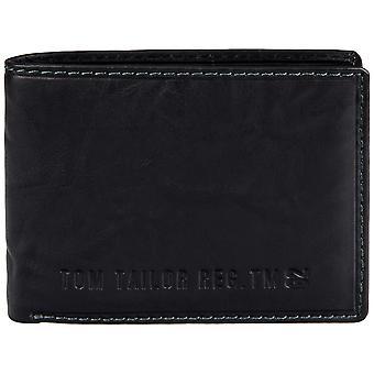 Tom tailor Harry mens de cuero monedero cartera 20404