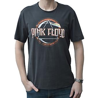 Amplified Pink Floyd On The Run Charcoal Crew Neck T-Shirt M