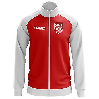 Kroatien koncept fodbold Track jakke (rød)