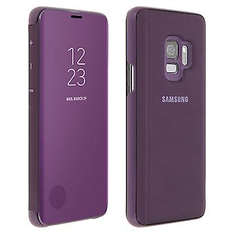 Officiel Samsung Clear View permanent couverture pour Samsung Galaxy S9 - violet