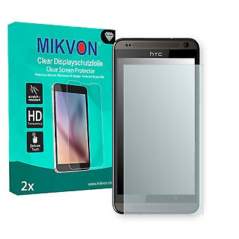 HTC Desire 700 Screen Protector - Mikvon Clear (Retail Package with accessories)