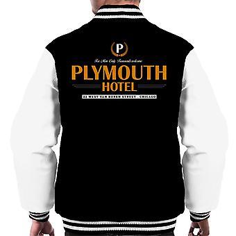 Blues Brothers Plymouth Hotel Men's Varsity Jacket