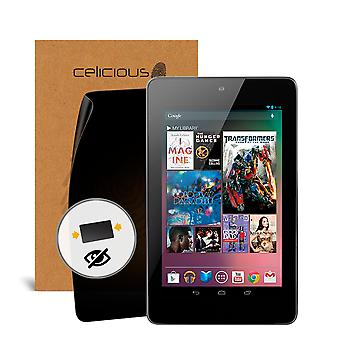Celicious Privacy 2-Way Anti-Spy Filter Screen Protector Film Compatible with Google Nexus 7