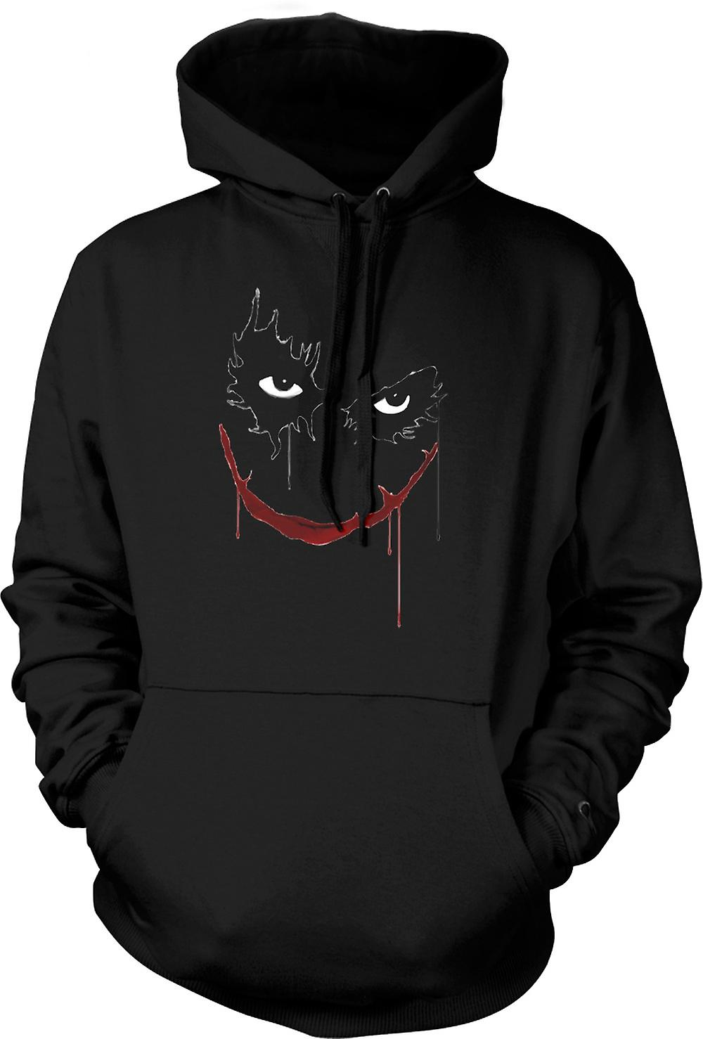 Enfant Sweat Capuche - Joker Sourire - Batman - Pop Art