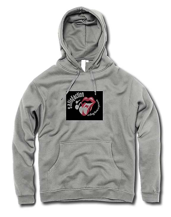 Mens Hoodie - Rolling Stones Experience - Satisfaction
