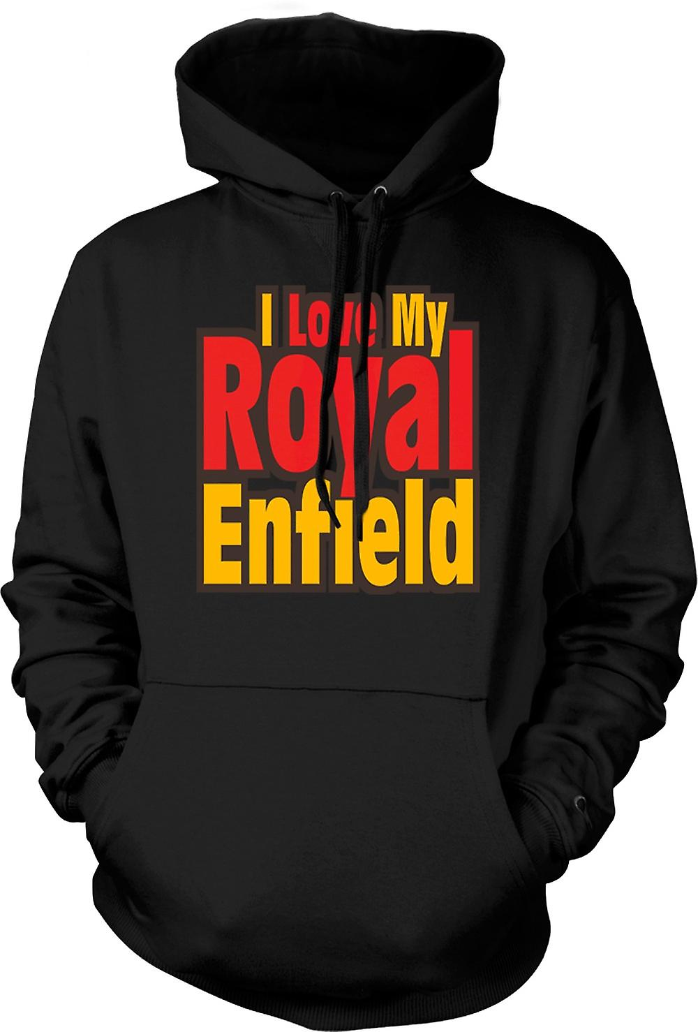 Hoodie Kids - I Love My Royal Enfield - Moto - Biker
