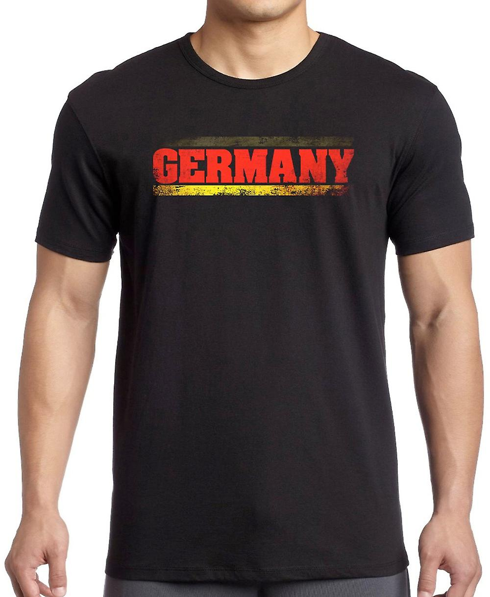 German Germany Flag - Words Kids T Shirt