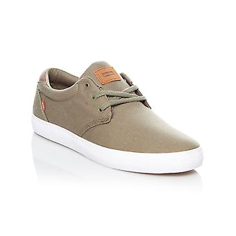 Globe Burnt Olive Canvas Willow Shoe