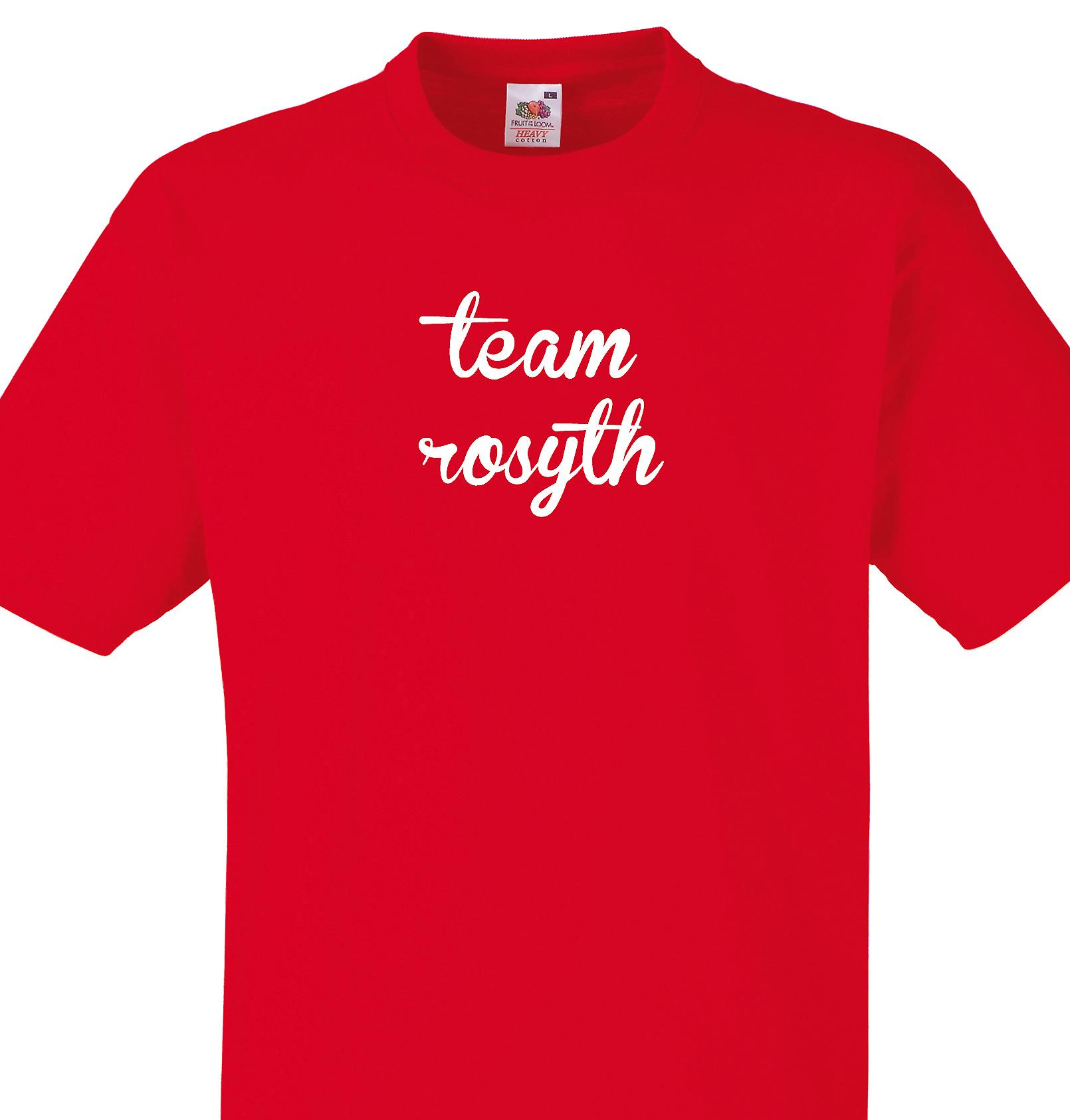 Team Rosyth Red T shirt