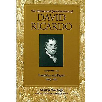 Travaux et correspondance de David Ricardo: brochures et documents, 1809-1811 c. 3