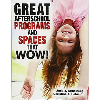 Afterschool de grands programmes et espaces qui Wow!