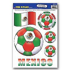 Mexico Peel 'n' Place Removable Stickers