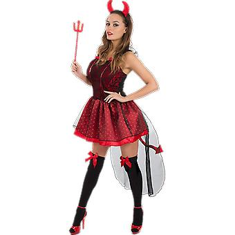 Orion Costumes Womens Sexy Red Devil Halloween Fancy Dress Costume