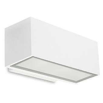 Afrodita Wall Washer Light Up & Down Small White - Leds-C4 05-9911-14-CL