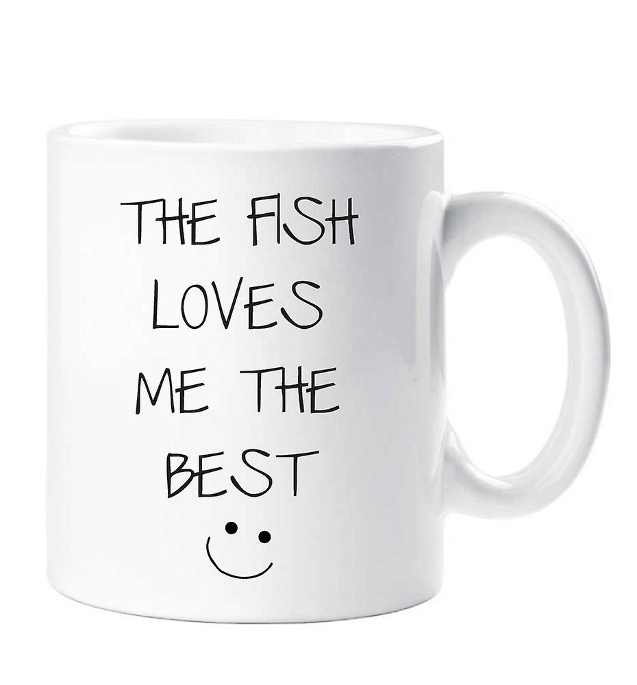 M'aime Poisson Le Meilleur Mug Le iZuTwOPkXl