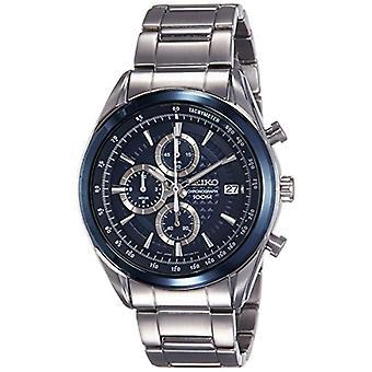 Seiko Chronograph quartz men's Watch with stainless steel band SSB177P1