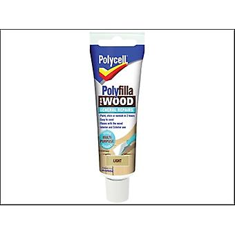 Polycell Polyfilla For Wood General Repairs Tube Light 330g