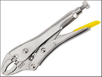 Stanley Tools Locking Pliers 225mm Curved Jaw