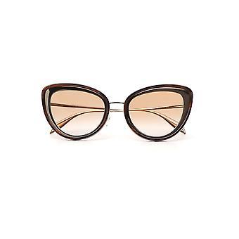 Alexander Mcqueen Brown Plastic Sunglasses