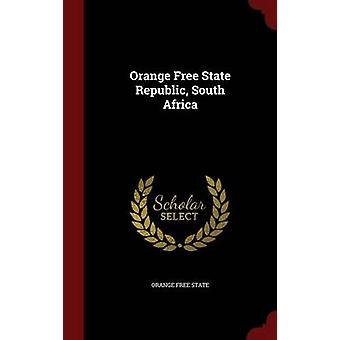 Oranje-Freistaates Republik Südafrika durch staatliche & Orange kostenlos